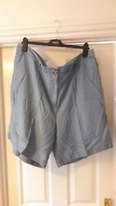 Next size 20T Tencel shorts - BNWT