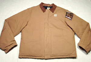 New CARHARTT J02 Arctic Traditional Jacket (Quilt Lined) Duck NOS/NWT! XL 46