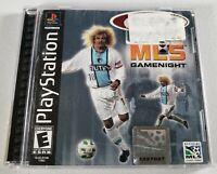 ESPN MLS GameNight (Konami, 2000) Sony Playstation 1 PS1 Soccer Game (Complete)