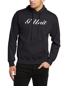 G UNIT HOODIE HIP HOP 50 CENT BANKS YAYO DOPE GRAPHIC HOODIE TOP