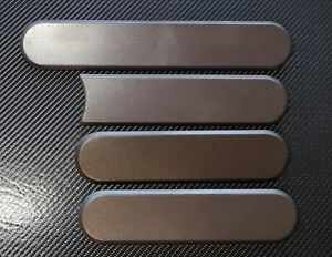 New Reproduction Peugeot 205 Gti Side Badges Grey Blank suit phase 1 1.5