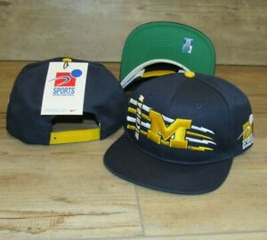 Nike Michigan Wolverines Sports Specialties Vintage Snapback Hat Cap size Men's