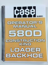 OPERATORS MANUAL FOR CASE 580D 580 D LOADER BACKHOE OWNERS MANUAL