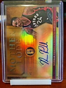 2016-17 Panini Gold Standard Mother Lode /99 Norman Powell #42 Autograph