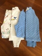 Mini Boden Girls Pyjamas/PJs x 2 pairs Age 4 VGUC