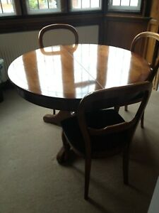 Grange Circular (extendable) dining table and 6 chairs