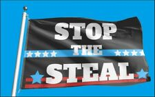Stop The Steal 3 X 5 ft Trump Flag