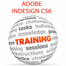 Adobe InDesign CS6-Video formazione tutorial DVD