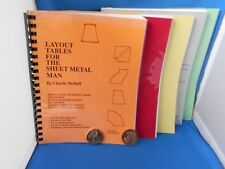 5 Sheet Metal Worker Training Manuals/Books! Investment! This Ships Insured Bypo