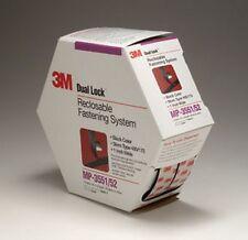 "Dual Lock Reclosable Fastener System 06484 Black, 1"" x 4.9 yd 3M-6484 New!"
