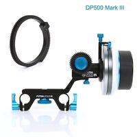 FOTGA DP500 Mark III A/B Hard Stop Follow Focus For 15mm Rod Rig All DSLR camera