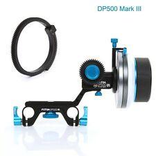FOTGA DP500 Mark III A/B Hard Stop Follow Focus For 15mm Rod DSLR Sony Canon Cam