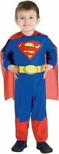 Boy or Girl Child Costume (Rubie's) SUPERMAN Sz Toddler (Ages 1-2) NEW