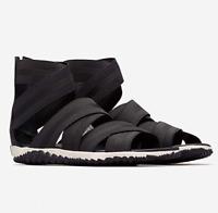 SOREL Women's Out N About Plus Strap Sandals Black