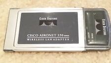 Cisco Aironet 350 Series PCMCIA Wireles LAN Adapter