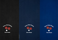Personalised Miracle Water Absorbent Speckled Lawn Bowls Towel Add Club & Name