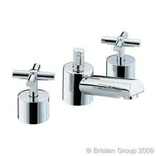 Pop Up Waste Traditional Wall Mounted Bathroom Taps