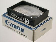Original Canon F-1 Alt Old Einstellscheibe Mattscheibe Focusing Screen C (6)