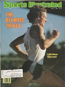 OLYMPIC BOYCOTT STEVE SCOTT 1980 SPORTS ILLUSTRATED 1,500 TRACK FIELD SPEED GOLF