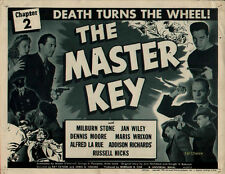 The Master Key - Classic Cliffhanger Movie Serial DVD  Milburn Stone Jan Wiley
