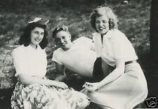 VINTAGE THREE'S COMPANY MAGIC NUMBER THREESOME SOCK TEENS GIRL BOY FINE PHOTO