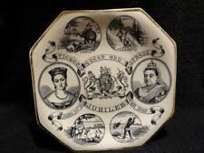 """Queen Victoria Golden Jubilee Plate 1887 - """"Victoria Queen And Empress"""""""