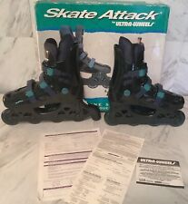 New listing Wayne Gretzky Ultra Wheels Skate Attack Adult Inline Skates Size 8-NEW, vintage