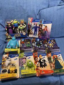 Disney Pixar Toy Lot Action Figure Monster Inc, Onward, WallE, Soul, Coco, Brave