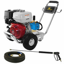 BE Professional 4000 PSI (Gas - Cold Water) Pressure Washer w/ CAT Pump & Hon...