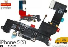 Black Replacement Charging Dock Port Connector, Flex Cable for iPhone 5S. 🇬🇧