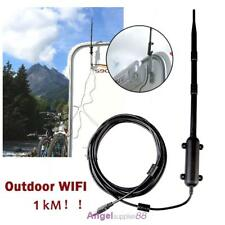 1000M 13DBI RP-SMA 2.4 GHz Wireless Wifi Antenna Aerial Modem Router Outdoor USB