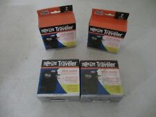 LOT OF 4 Tripp Lite Portable Surge Protector for Notebook Computer 1050 Joules