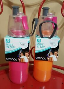 O2COOL ArcticSqueeze Mist 'N Sip 20 Oz. Hydration Water Bottle