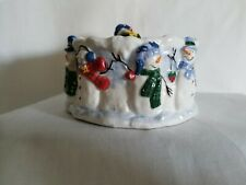 Christmas Button Up Dip Mix Set Bowl And Spreader