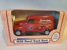 ERTL 1950 BUDWEISER PANEL TRUCK BANK
