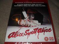 Alice Sweet Alice (1976) Brooke Shields Slasher Region Free BRAND NEW Blu-ray