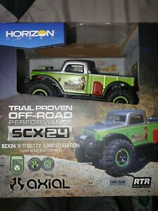 Axial SCX24 B-17 Betty Limited Edition 4WD Green RTR (new in box)