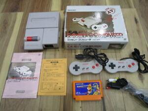 Nintendo New Famicom Console w/box NES FC R443