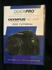 New listing Olympus E-510 Tutorial Dvd by QuickPro Camera Guides (New)