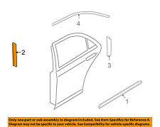MAZDA OEM 09-13 6 Exterior-Rear-Black Out Tape Right GS3R508V4
