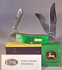 Case XX John Deere Sowbelly Pocket Knife ~ New