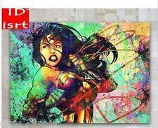OIL PAINTING MODERN WALL DECO ART CANVAS,Wonder Woman 24x36(No Stretch)