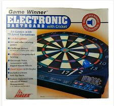 Halex Game Winner Electronic Dart Board 4 Player 14 Game 75 Level Variations New