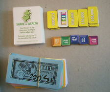 Cards, Counters, Money & Tiles from 2007 THE GAME OF LIFE