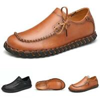 38-44 Mens Faux Leather Driving Moccasins Shoes Pumps Slip on Loafers Walking