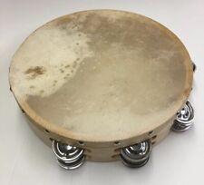 "Tambourine/Pandereta-10"" With Double Row Of Jingles,"