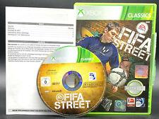 """X-BOX 360 SPIEL """" FIFA STREET """" KOMPLETT"""