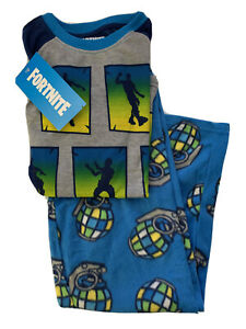 Fortnite Boys Pajamas Size 8  Fleece Grenade Pants