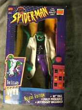 SPIDER-MAN THE LIZARD 10 INCH DELUXE ACTION FIGURE TOY BIZ MARVEL COMIC MJ