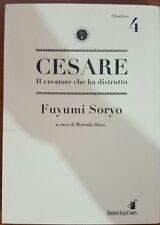 CESARE. IL CREATORE CHE HA DISTRUTTO VOL.4 9788864200194 FUYUMI SORYO LIBRO FUME